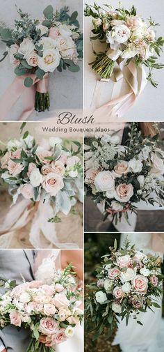 Distinctive Gifts Mean Long Lasting Recollections Beautiful Blush And Greenery Wedding Bouquets Blush Pink Wedding Flowers, Blush Pink Weddings, Bridal Flowers, Flower Bouquet Wedding, Bride Bouquets, Floral Wedding, Blush Bouquet, Blush Wedding Bouquets, Romantic Wedding Flowers