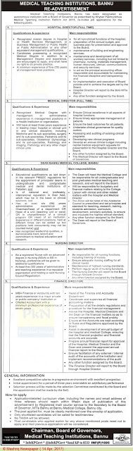Nurses Jobs In Social Welfare And Bait Ul Mal Department