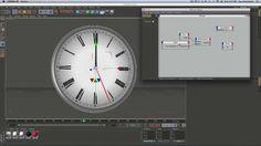 Clock Rig in Cinema 4D - XPresso Basics