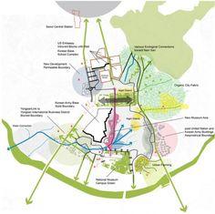 Interface of park and city Seoul © West 8 urban design & landscape architecture