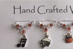 Musical Wine Charms, Wine Glass Charms , Music Charms, Drums, piano, notes, Keyboard - Swarovski Crystal Charms, New Home, Gala Dinners, Dinner Part by Makewithlovecrafts on Etsy