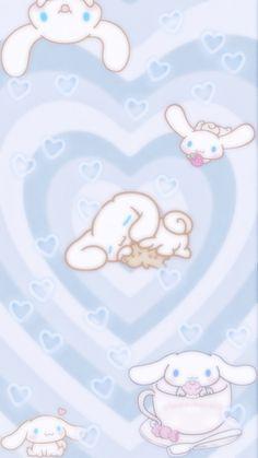 Pink Wallpaper Anime, Blue Wallpaper Iphone, Sanrio Wallpaper, Cute Pastel Wallpaper, Flower Background Wallpaper, Hello Kitty Wallpaper, Kawaii Wallpaper, Cute Wallpaper Backgrounds, Cute Cartoon Wallpapers