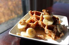 Banana Bread Waffles   http://sweetstacks.com/banana-bread-waffles/