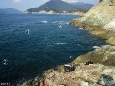 릴 찌낚시(26), 갯바위 낚시 포인트 찾는 방법 #. 릴 찌낚시 기초 목차1) 갯바위 낚시 세계로 빠져보자2) ...