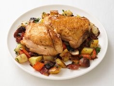 Chicken Thighs with Root Vegetable Hash Recipe : Food Network Kitchen : Food Network - FoodNetwork.com