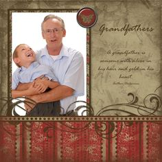 scrapbook page layouts   Scrapbooking Page Layout Ideas – Father's Day / Grandfather's