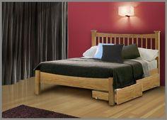 Flintshire Aston Oak King Size Bed