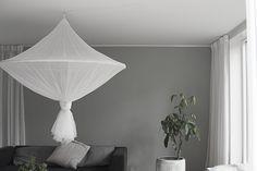 IKEA hack: Gör en stor taklampa av insektsskyddet SOLIG för under 200 kr