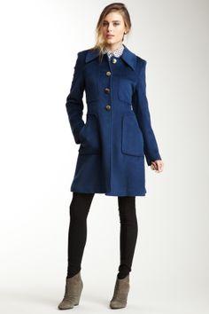 Tahari - Megan Pea Coat