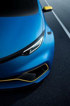 Renault unveils ZOE e-sport concept at the 2017 Geneva Motor Show.