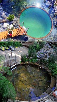 Amazing Swimming Pools, Natural Swimming Ponds, Luxury Swimming Pools, Natural Pond, Swimming Pools Backyard, Swimming Pool Designs, Cool Pools, Pool Landscaping, Indoor Pools