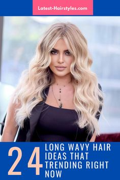 You'll be the envy of everyone you know with gorgeous long wavy hair! We're showing off drop-dead beautiful wavy hairstyles for long hair. Click on the link right now. (Photo credit IG @victorkeyrouz) Drop Dead Beautiful, Long Wavy Hair, Latest Hairstyles, Trending Now, Right Now, Cool Words, Just For You, Long Hair Styles, Long Hairstyle