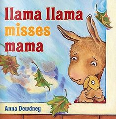 Llama Llama Misses Mama online book.  It's Llama Llama's first day of preschool! And Llama Llama's mama makes sure he's ready. They meet the teachers. See the other children. Look at all the books and games. But then it's time for Mama to leave.
