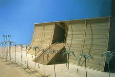 Tadao Ando. Japan Architect 1 1991: 91 | RNDRD, #architecturalmodel