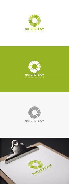Nature Team Logo Template AI, EPS
