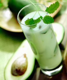 Avocado-Lime Honey Smoothie. 5 simple ingredients. Nutritious.