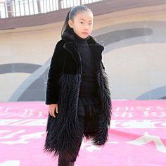 Tall Girls Brand Faux Fur coat | Furrple