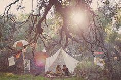 Bohemian Twilight: bohemian tents