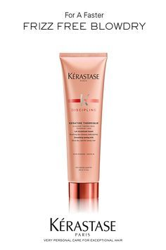 Kerastase Keratin Thermique Primer - Advanced technology that smoothes hair for salon quality anti frizz protection without weighing hair down. 85% less breakage & heat protection up to 450 degrees.