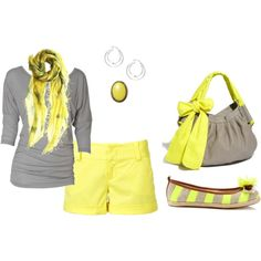 super cute but too much yellow, let's get rid of the shoes & bag ( but I'll keep the bag in my closet for another outfit lol)