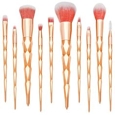 24 Cute & Fun Makeup Brush Sets from Amazon - Everything Pretty How To Wash Makeup Brushes, Make Makeup, Basic Makeup, Pretty Makeup, Glam Makeup, Bridal Makeup, Make Up Tutorials, Too Faced, It Cosmetics Brushes