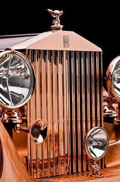 Rolls Royce - Vintage Luxury Car.
