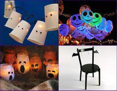 Decoração para festas de Halloween