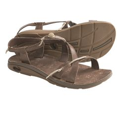 Leather+Sandals+for+Women   Chaco Local Ecotread Sport Sandals - Leather (For Women) in Bison