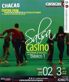 #Repost @ccsdancecompany with @repostapp  Quieres #bailar #salsacasino? Pues este #sábado 02 de abril empieza un curso para principiantes en #chacao cerquita del metro #actívate y #baila con nosotros en @ccsdancecompany... #bachata #kizomba #salsaenlinea  #SalsaCasinoVenezuela #Salsa #SalsaCasino #Timba #BailaSalsaCasino #SalsaDance #DanceSalsa #DanceSalsaCasino #SiBailasSalsaCasinoEstasAqui