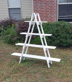 My display ladders are attention grabbing, portable, easy to assemble, and sturdy. They fit in my Hyundai Santa Fe with ease! My little story about these ladders came to be. I was attending my first arts & crafts fair. As many of you know, it was a very stressful time. I wanted