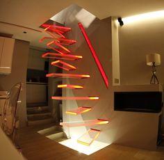 Resultado de imagem para escalier à pas décalé