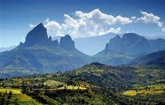 Ras Dashen is Ethiopia's highest mountain, and the fourth tallest in Africa (4620m).