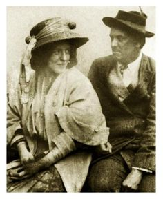 Rose Edith Kelly & Aleister Crowley