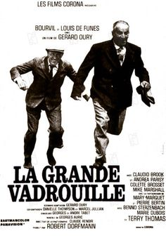 La Grande Vadrouille until the release of Bienvenue chez les Ch'tis in La Grande Vadrouille was the most successful French film in France, topping the box office with over cinema admissions French Movies, Old Movies, Classic Movies, Films Cinema, Cinema Posters, Movie Posters, Film Movie, Grand Film, Vintage Movies