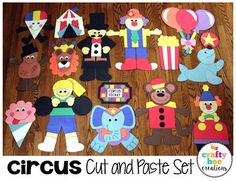 Preschool Circus, Circus Activities, Preschool Lesson Plans, Activities For Kids, Circus Theme Crafts, Summer Camp Themes, Book Of Circus, Monkey Art, Trunk Or Treat