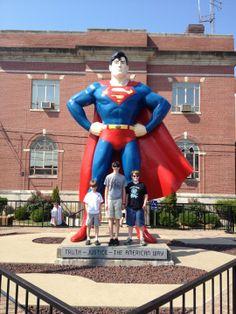Metropolis: home of Superman!