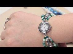 How To Create Beaded Watch Bands Eye Jewelry, Jewelry Findings, Beaded Jewelry, Handmade Jewelry, Beaded Bracelets, Jewlery, Jewellery Diy, Jewelry Making Tutorials, Jewelry Making Beads