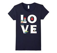 Amazon.com: Teacher / Professor LOVE T-shirt: Clothing