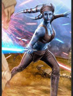 Verzamelingen Star Wars Topps Star Wars Card Trader FINEST 2019 Core Collection Aayla Secura DIGITAL