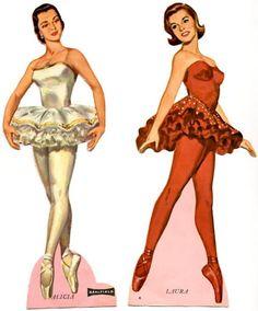 Ballet dolls 1960s