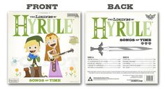 The Legends of Hyrule Front and Back set by joebot on Etsy