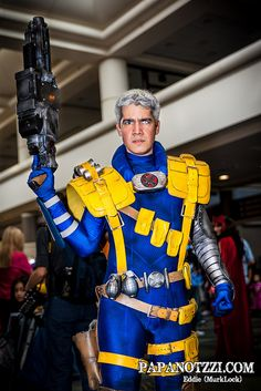Cable - X-men   Megacon 2013 - Sunday