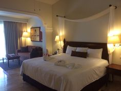 Jr Deluxe Suite in resort of Now Sapphire in Riviera Maya, Mexico (Cancun)