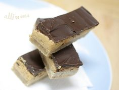 Peanut Butter Twix Bars by Alli 'n Son, via Flickr. Cut these buggers small, as they are crazy rich! Freezes well.