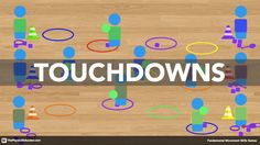 Touchdowns is a fun physical education game that will get your students focused on catching, throwing, passing and receiving.