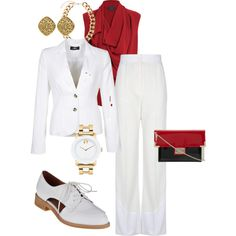 """Playing it cool while taking care of business"" by sheryl-slack-bessinger on Polyvore"