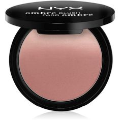 Nyx Professional Makeup Ombre Blush ($10) ❤ liked on Polyvore featuring beauty products, makeup, cheek makeup, blush, beauty, stuff, mauve me, nyx and nyx blush