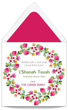 89 best jewish new year cards images on pinterest in 2018 bar sweet greetings jewish new year card m4hsunfo