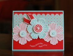 Stampin Up! SU by Connie Tumm, Stamp Art Squared#Repin By:Pinterest++ for iPad#