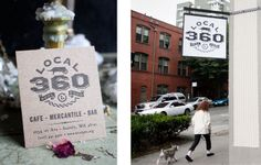 Local 360 in Belltown - all food is sourced within 360 miles of the restaurant!